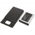 Replacement 3.7V 3000mAh Battery Pack + Back Cover Case for Samsung i9100