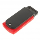 Mini Rotatable USB 2.0 Flash/Jump Drive - Black + Red (2GB)