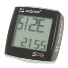 "Sigma BC509 1.5"" LCD Bicycle Computer (1 x CR2032)"