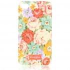 Lacquered Shell Goegtu Peony Style Protective ABS Back Case for iPhone 4