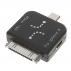 Mini/Micro USB Adapter for iPad/iPhone - Black