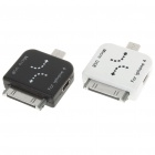 Mini/Micro USB Adapters for iPad/iPhone (2-Pack)