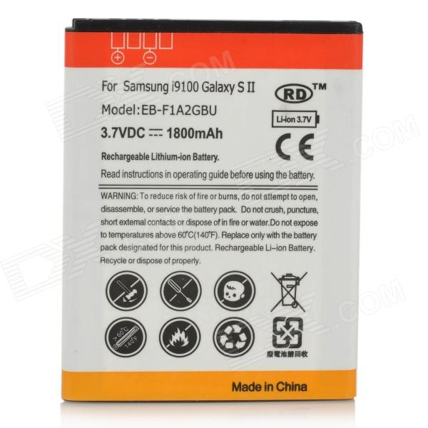 Replacement 3.7V 1800mAh Battery for Samsung i9100