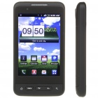 "F9191 3.7"" Touch Screen Android 2.2 Quadband GSM TV Cell Phone w/ Wi-Fi - Black"