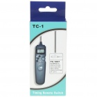 "TC-1007 1.0"" LCD Wired Timer Remote Shutter Release for Olympus E30/SP510/EP-1 + More (1 x CR2032)"