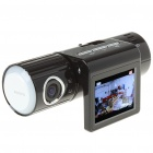 5.0MP Wide Angle Car DVR Camcorder w/ 2-LED Night Vision/TF (2.0
