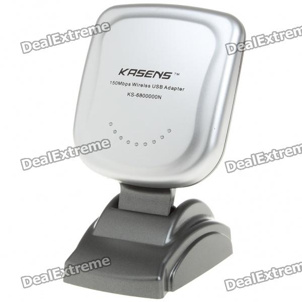 KASENS 2000mW 54Mbps 802.11b/g USB 2.0 WiFi Wireless Network Adapter