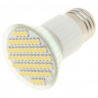 E27 4.5W 3500K 240-Lumen 60-SMD LED Warm White Light Bulb (85~265V)