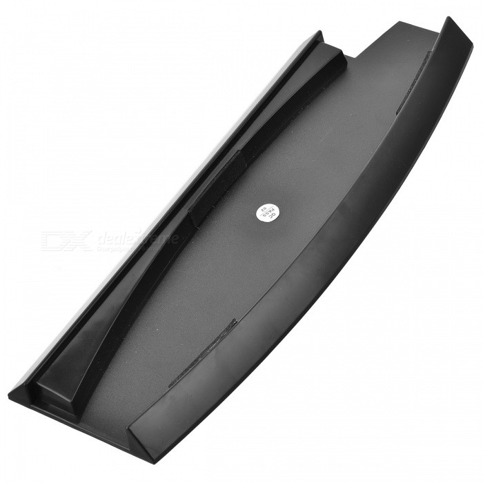 Compact Vertical Stand Holder for PS3 Slim - Black