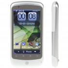"H9 3.7 ""Touch Screen Dual SIM Quadband GSM Handy-TV w / GPS / JAVA / WiFi / Dual-Kamera - Weiß"