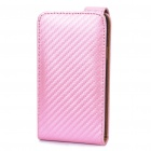 Protective Grass Leather Cover Plastic Case w/ Stylus for Samsung i9100 Galaxy S2 - Pink