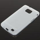 Protective PVC Back Case for Samsung Galaxy S II i9100 - White