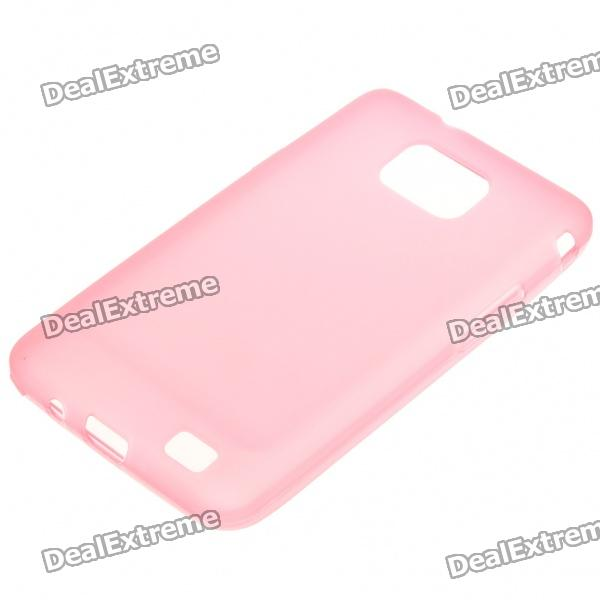 Protective PVC Back Case for Samsung Galaxy S II i9100 - Pink