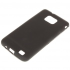 Protective PVC Back Case for Samsung Galaxy S II i9100 - Black