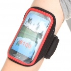 Sports Gym Arm Band Case for Samsung i9100 Galaxy S2 - Black + Red