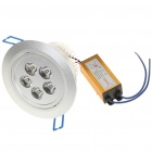 5W 450-Lumen 3500K 5-LED Warm White Light Ceiling Lamp with LED Driver (AC 85~265V)