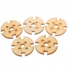 Wooden Mounting Brackets for A2208/A2212/A2217 Motors (5-Pack)