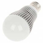 E27 6W 6500K 540-Lumen 6-LED White Light Bulb (AC 85 ~ 265V)