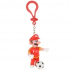 Football Team Super Mario Figure Keychain - China #8