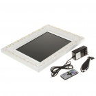 Wooden 12.1' LCD Digital Photo Frame with USB/SD/MMC/MS (800 x 600px)