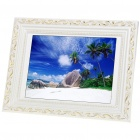 "Wooden 12.1"" LCD Digital Photo Frame with USB/SD/MMC/MS (800 x 600px)"