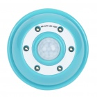 PIR Motion Activated 2-Mode 6-LED White Light - Blue + White (4 x AAA)