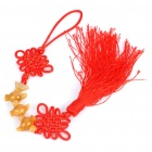 Stylish Chinese Knot Tassels Ornament for Car