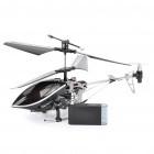 Iphone/Ipod Touch/Ipad Controlled Rechargeable 3-CH R/C I-Helicopter w/ Gyroscope - Black