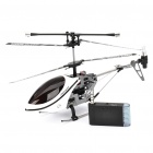 Iphone/Ipod Touch/Ipad Controlled Rechargeable 3-CH R/C I-Helicopter w/ Gyroscope - White