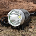 P7 Water Resistant SSC-P7 3-Mode 900-Lumen White LED Bike Light with Battery Pack Set