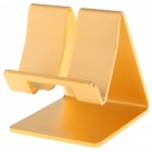 Compact Stand Mount Holder for iPad/iPhone/MP4 - Golden