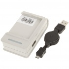 AC Powered Battery Charging Dock + Retractable USB Cable for HTC Sensation G14