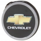 Portable Metal CD Storage Bag Box with Chevrolet Car Logo (Holds 24-CD)