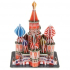 Intellectual Development DIY 3D Paper Puzzle Set - Saint Basil's Cathedral