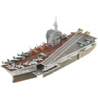 Intellectual Development DIY 3D Paper Puzzle Set - Aircraft Carrier