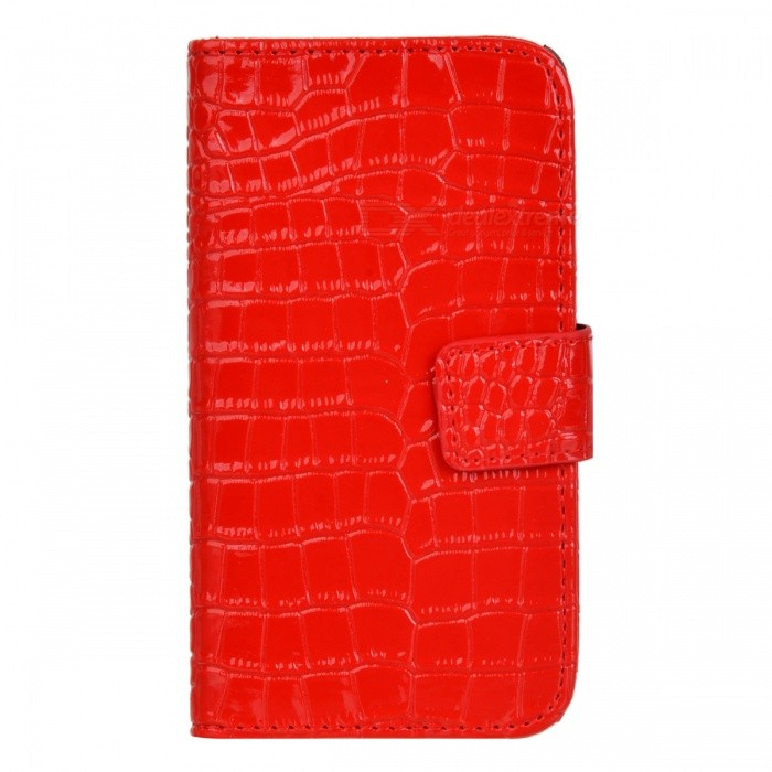 все цены на Protective PU Leather Case for Samsung i9100 - Red онлайн