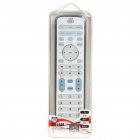 Universal Remote Controller for TV/DVD/SAT/CBL - White (2 x AAA)