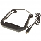 "48"" Virtual Screen Mobile Cinema Glasses with Portable Media Player (1GB Internal/TF Slot)"