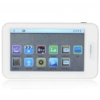 """4,3 """"Touch-Screen-MP5 Media Player mit FM / TF / TV-Out - Weiß (4GB)"""