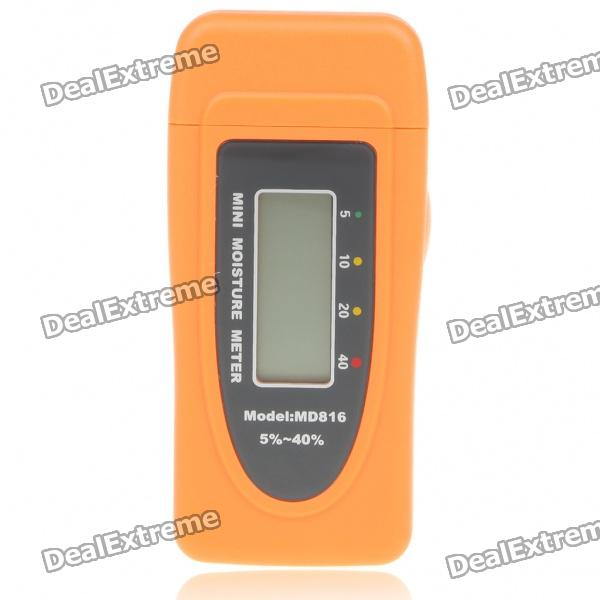 1.2 LCD Digital Wood Moisture Meter mc 7806 digital moisture analyzer price with pin type cotton paper building tobacco moisture meter