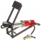 Compact Foot Pump with Pressure Gauge for Bicycle/Motorcycle/Electric Bike