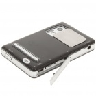 "ZT-810 Portable 2.8"" Touch Screen Media Player w/ Camera/FM/AV-Out/TF - Black + Silver (2GB)"