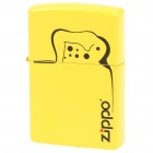 Genuine Zippo Fuel Copper Fluid Lighter - Yellow