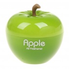 Green Apple Shaped Car/Home Perfume Air Freshener - Peach Flavor (28ml)