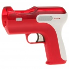 Shooting Equipment Gun Pistol Adapter for Motion Controller PS3 Move - Red + White