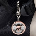 Skeleton Shaped Keychain Quartz Watch