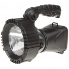 Solar/AC Rechargeable 3W 80-Lumen 2-Mode 1-LED White Light Spotlight Searchlight
