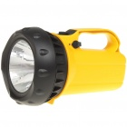 AC Rechargeable 3W 80-Lumen 2-Mode 1-LED White Light Spotlight Searchlight