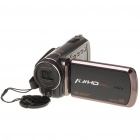 "3"" Touch Screen 5MP CMOS Digital Video Camcorder w/ 4X Digital Zoom/TV-Out/HDMI/SD - Black"