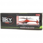 Rechargeable 4-CH R/C Helicopter w/ Gyroscope - Orange Red